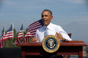 Obama San Gabriel Monument Signing