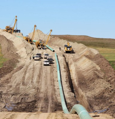 Oil expected in Dakota Access Pipeline this week