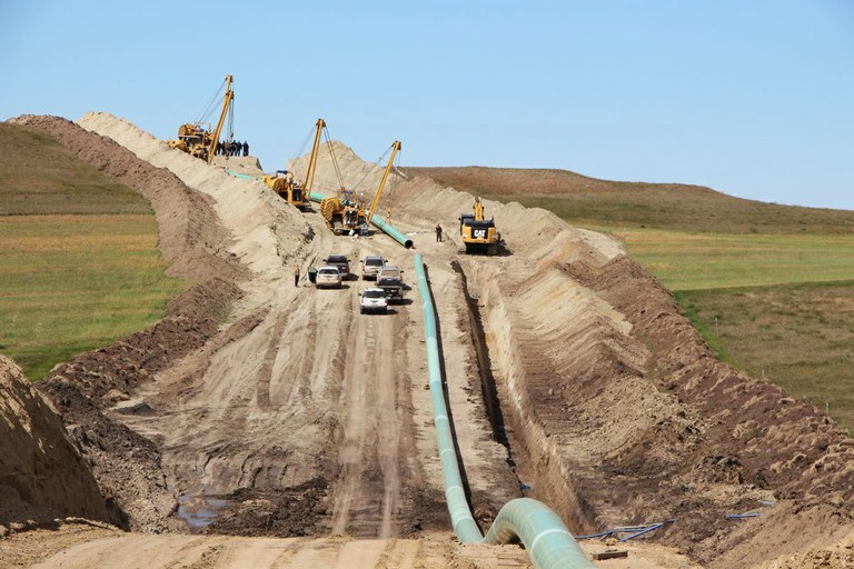 Oil expected in Dakota Access Pipeline this week
