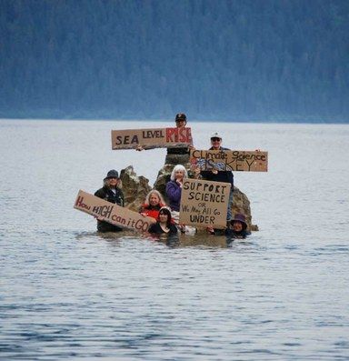 As sea levels rise, so should our action and alarm