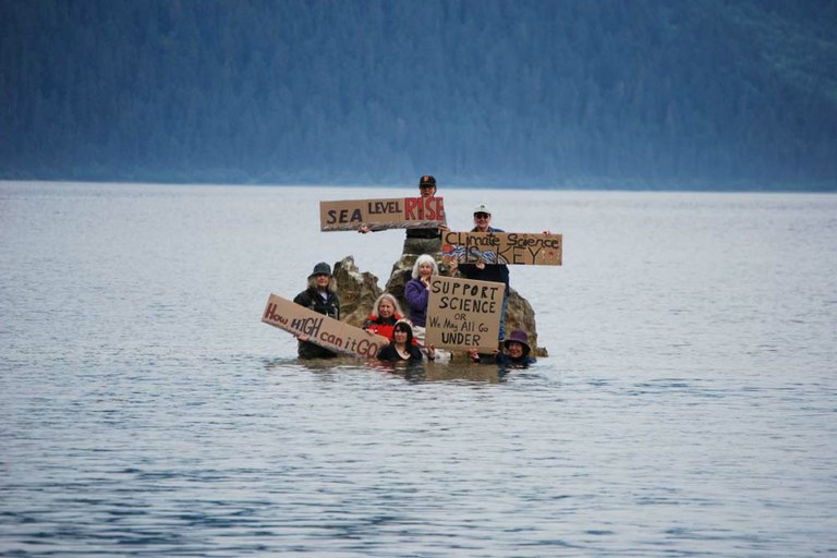 As sea levels rise, so should our action and alarm — High