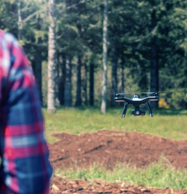 Drones intrude on the outdoor experience