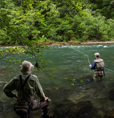 Fly fishing conversations with a New York real estate developer