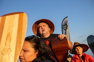 A canoe journey to Alcatraz on Indigenous Peoples' Day