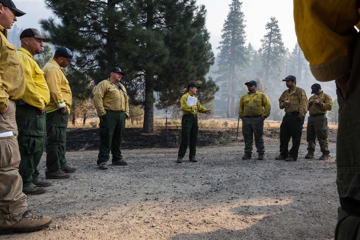 Gender diversity on the fire line