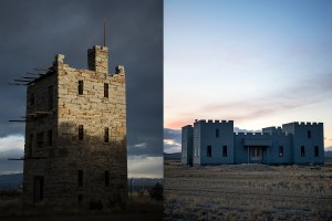 The two castles of Austin, Nevada