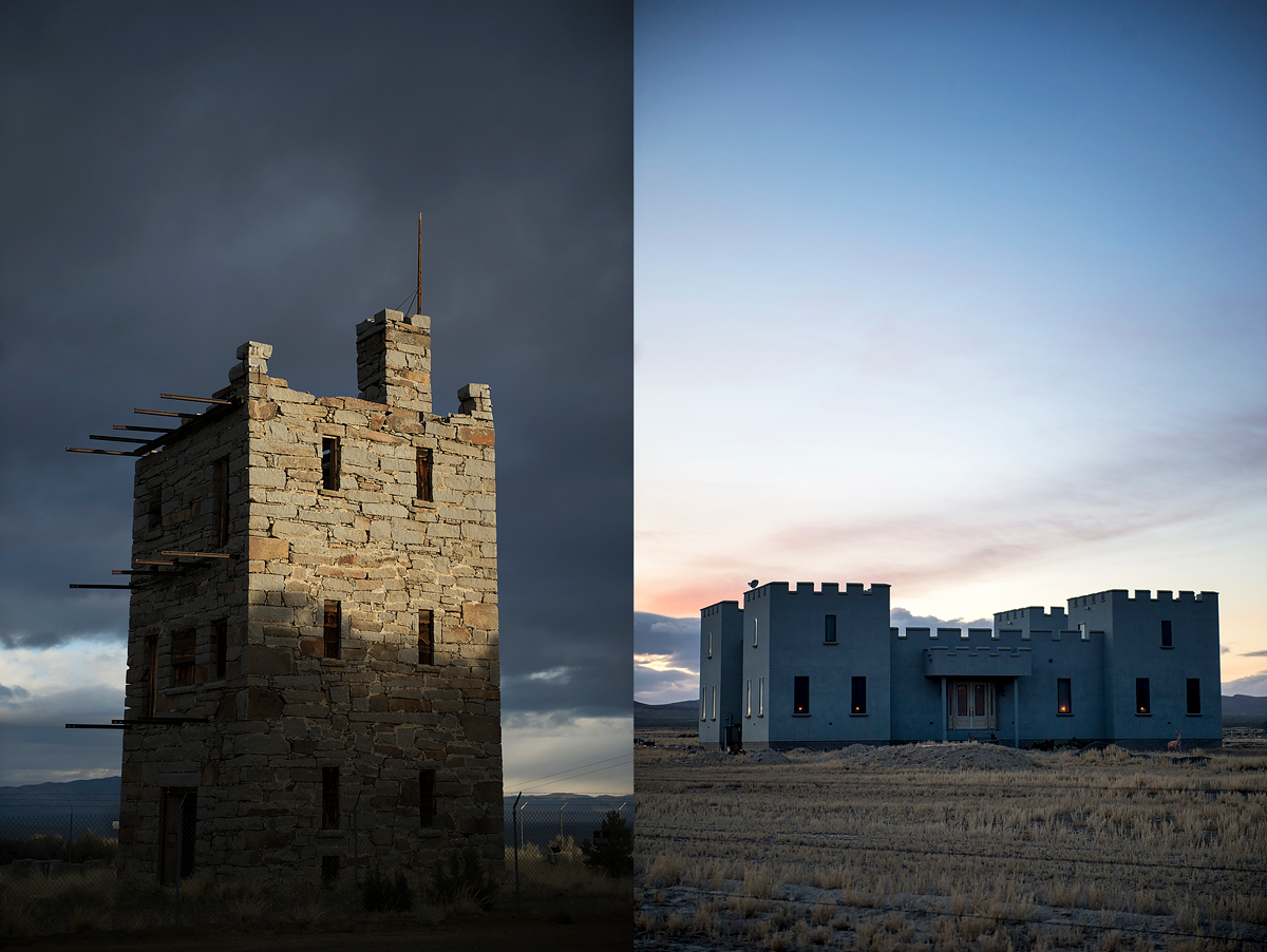 The Two Castles Of Austin Nevada High Country News Know The West