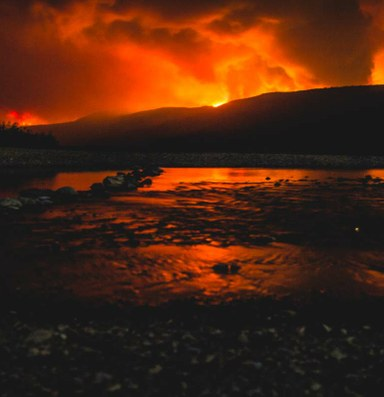 The Sprague Fire, as it happened