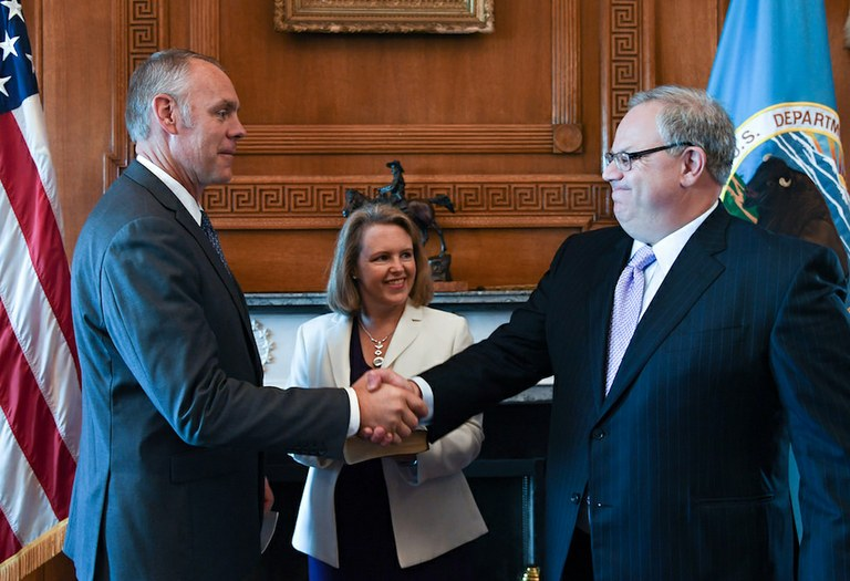 Zinke s new no 2 once lobbied for ca s largest water district high country news for Who is the secretary of the interior department