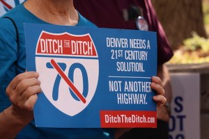 Denver neighborhoods sue over highway expansion