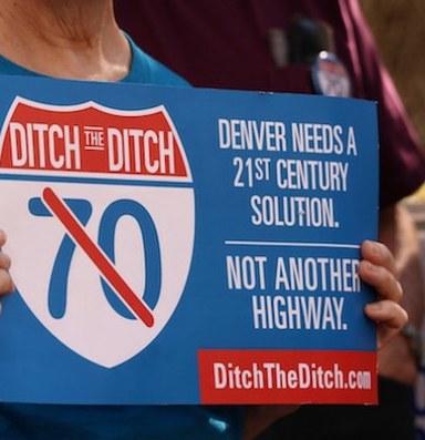 Denver neighborhoods sue over highway expansion