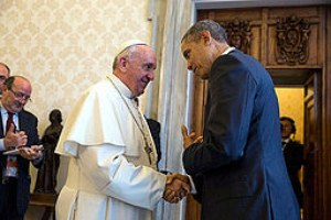 Pope Francis and Obama make joint appeal for climate action