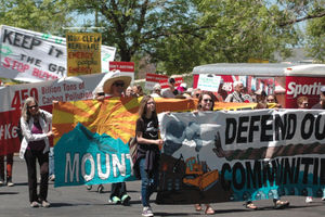 Protests against drilling on public lands are escalating