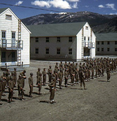 A military legacy loosens its grip on a landscape