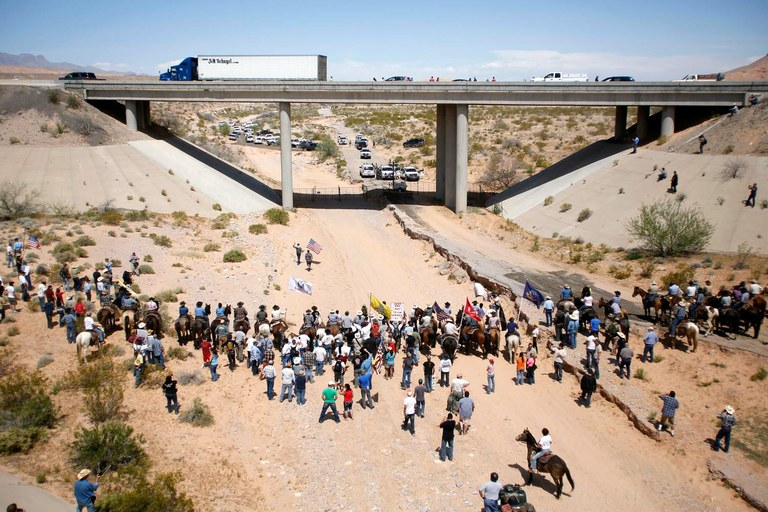 Bundy Ranch 'gunmen' face retrial in Las Vegas — High Country News ...
