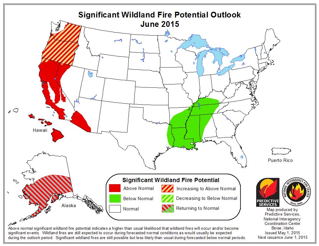 Fire Outlook June 2015