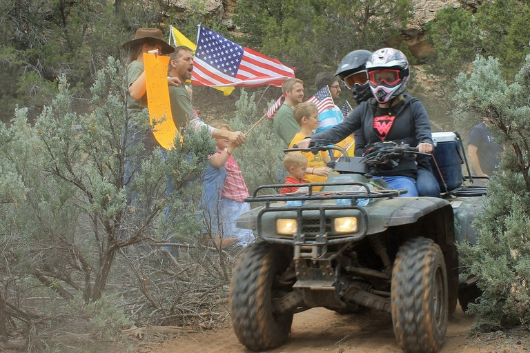 Recapture Canyon protesters found guilty in Utah