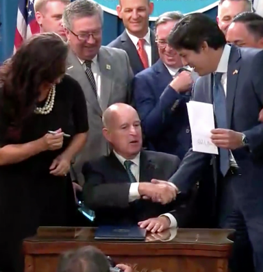 California commits to 100 percent clean energy