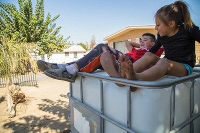 Residential wells run completely dry in the Central Valley