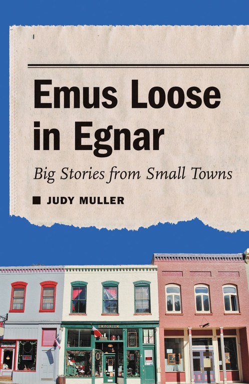 Cover of the book Emus Loose in Egnar, by Judy Muller