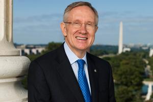 Senate Minority Leader Harry Reid announces retirement