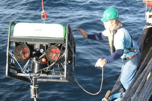 Shadowing fishermen's nets with a robot sub