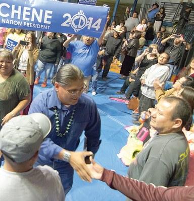 Two political elites prevail in Navajo primary melee