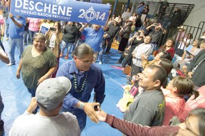 Two political elites prevail in Navajo primary melee