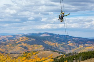 Ski areas add warm-weather options