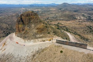 After months of border wall construction, a look at the damage done