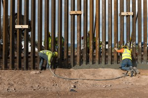 Biden halted border wall construction. Now what?