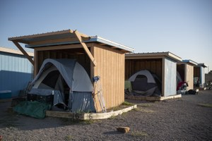 Can alternative living encampments help with the homelessness crisis?