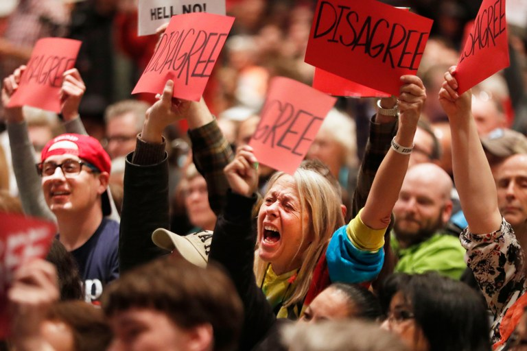 Republicans shy away from town halls