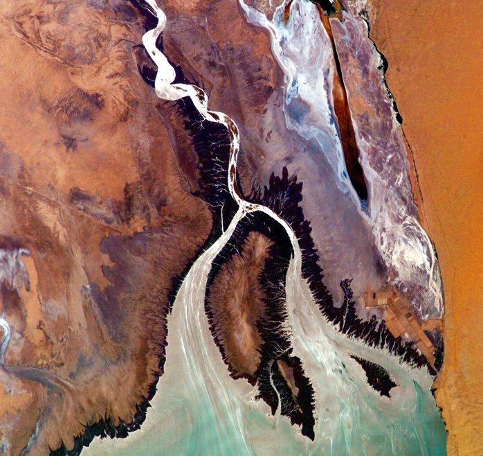 The Colorado River's unexpected carbon footprint — High