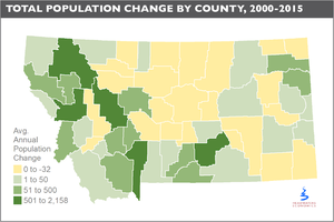 Can rural towns stem the trend of population decline?