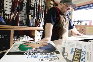 What gun shops can do to help prevent suicide