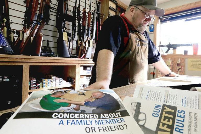 What gun shops can do to help prevent suicide — High Country