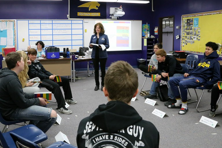 In A State Troubled By Suicide Teens Learn Mental Health Skills