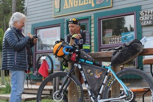 What the two-wheeled tourist can offer tiny towns