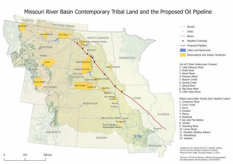These Maps Help Fill The Gaps On The Dakota Access Pipeline High - North dakota rivers map