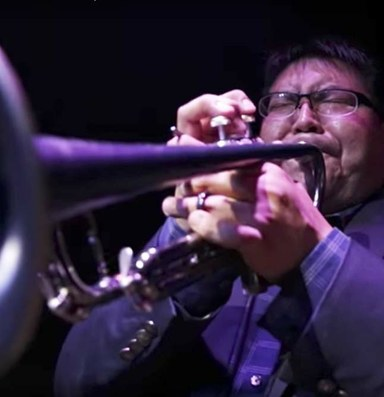 A Navajo musician's quest to spread jazz across the Nation