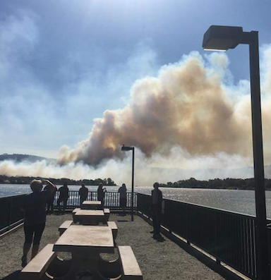Northern California tribes face down massive wildfires