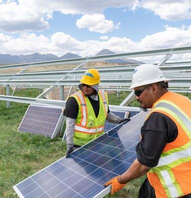 The Ute Mountain Ute Tribe goes solar