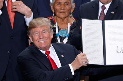 Trump's message for tribes: Let them eat yellowcake