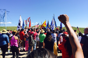 Tribes band together to fight an oil pipeline