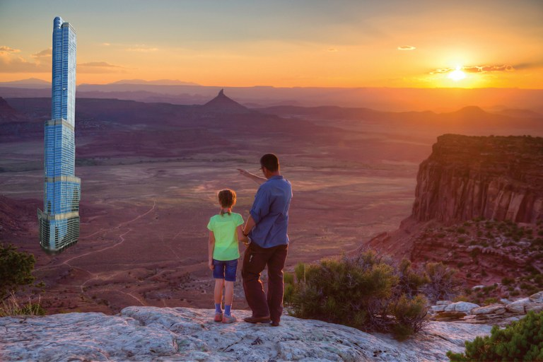 Trump tower to be built within bears ears high country news for Indian bear lodge cabins