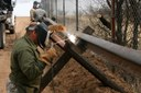 Legal or not, Trump's wall is already being built