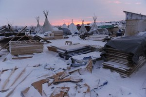 West Obsessed: The view from inside Standing Rock's camps