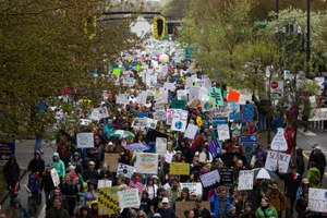 West Obsessed: The March for Science, out West