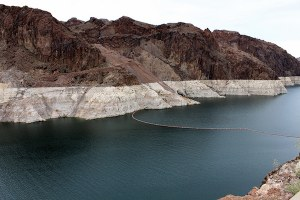 Lake Mead watch: six inches from the level that triggers cutbacks